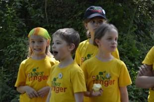 Erstes Junior Ranger Treffen